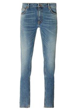 Nudie Jeans - SKINNY LIN UNISEX - Jeans slim fit - ecru dream