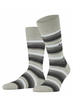 Burlington - DEVON - Socken - storm grey