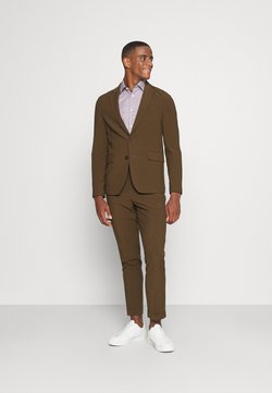 Isaac Dewhirst - THE RELAXED SUIT  - Costume - brown