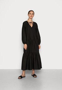 ARKET - GINGY DRESS - Maxiklänning - black