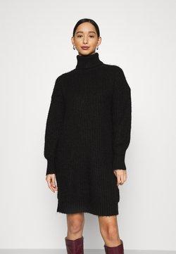 Even&Odd - Stickad klänning - black
