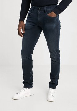 Replay - HYPERFLEX + ANBASS - Jeans slim fit - blue/black denim