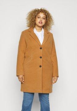Vero Moda Curve - VMCALACINDY JACKET - Classic coat - tobacco brown