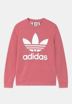 adidas Originals - TREFOIL CREW - Bluza - hazy rose/white
