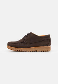 Timberland - JACKSONS LANDING  - Sznurowane obuwie sportowe - dark brown