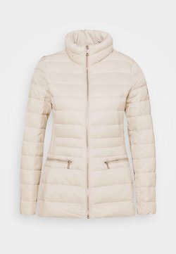 Lauren Ralph Lauren - SOFT COMBO MIXED QUILTS - Daunenjacke - light beige