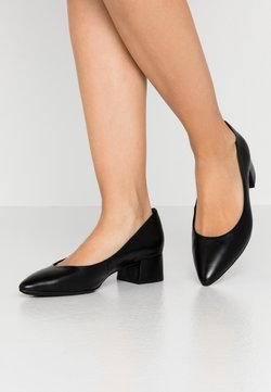 Marco Tozzi - COURT SHOE - Pumps - black antic