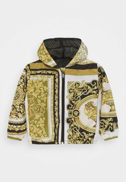 Versace - JACKET BAROQUE MOSAIC KIDS UNISEX - Jas - white/gold