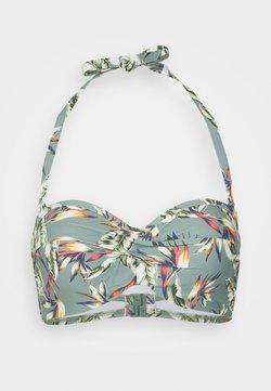 Esprit - PANAMA BEACH - Bikini-Top - light khaki