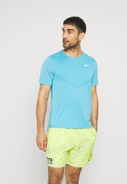 Nike Performance - RISE - T-Shirt print - chlorine blue