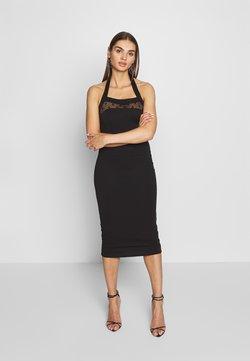 Lost Ink - BODYCON DRESS - Vestido de tubo - black