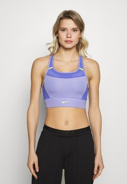 Nike Performance - POCKET BRA PAD - Sujetador deportivo - light thistle/sapphire/lemon