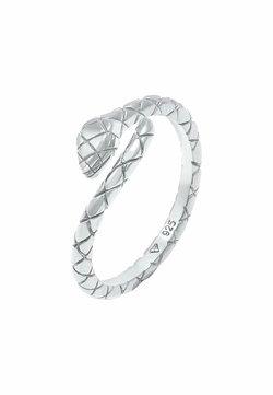 Elli - SNAKE DESIGN - Ringar - silber