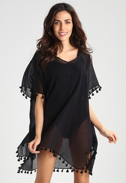 Seafolly - BEACH EDIT-AMNESIA KAFTAN - Strandaccessoire - black