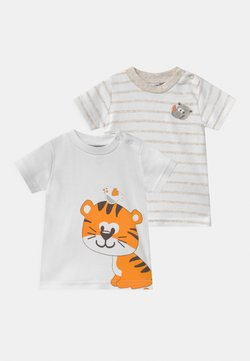 Jacky Baby - 2 PACK UNISEX - T-shirt con stampa - white