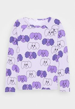 Mini Rodini - FLUFFY DOG UNISEX - Longsleeve - purple