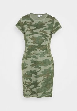 GAP - TEE DRESS - Vestido ligero - green
