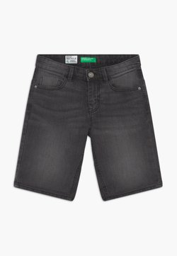 Benetton - Jeansshort - dark grey