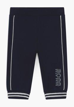 BOSS Kidswear - JOGGING BOTTOMS - Broek - bleu cargo