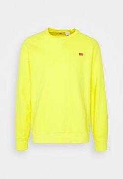 Levi's® - ORIGINAL ICON CREW UNISEX - Sudadera - yellow