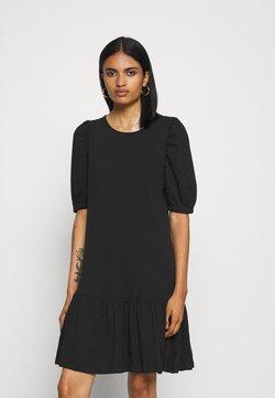 ONLY - ONLANNY 2/4 PUFF DRESS - Jersey dress - black