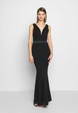WAL G. - BAND MAXI DRESS - Ballkleid - black