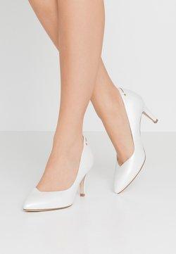 Tamaris Heart & Sole - COURT SHOE - Pumps - white pearl