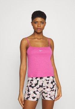 Nike Sportswear - TANK CAMI - Top - active fuchsia/white