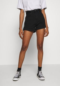 Levi's® - MOM LINE  - Jeans Shorts - flash black