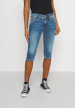 Pepe Jeans - SATURN CROP - Jeans Shorts - denim