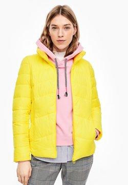 s.Oliver - Winterjacke - yellow