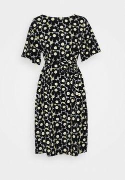Marimekko - KOLLINEAARI UNIKKO DRESS - Freizeitkleid - beige/black/yellow