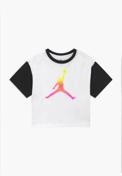 Jordan - JUMPMAN AIR RISE BOXY TEE - T-shirt imprimé - white