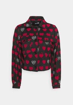 Love Moschino - Let jakke / Sommerjakker - nero/cuor red