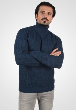Blend - CARRIZO - Strickpullover - dress blues