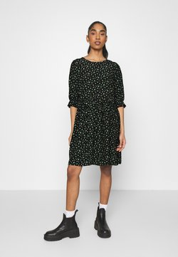 Even&Odd - Freizeitkleid - black/yellow