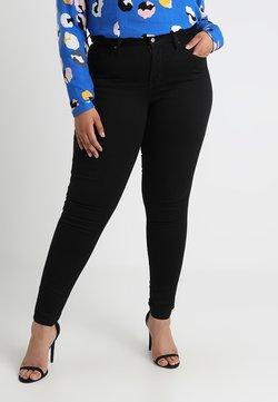 Levi's® Plus - 310 PL SHPING SPR SKINNY - Jeans Skinny Fit - black galaxy