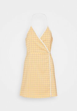Fashion Union - MALAGA DRESS - Kjole - yellow