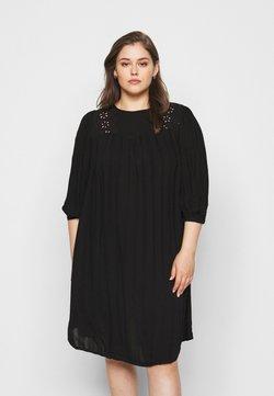 ONLY Carmakoma - CAREMSA KNEE DRESS - Freizeitkleid - black