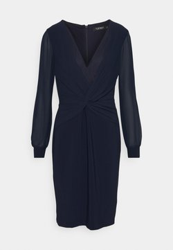 Lauren Ralph Lauren - BONDED DRESS COMBO - Cocktailkleid/festliches Kleid - lighthouse navy
