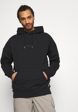 Quiksilver - CHECKER ARCH HOODY - Sweatshirt - black