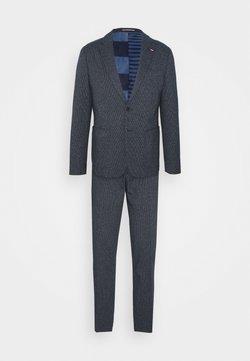 Tommy Hilfiger Tailored - JERSEY HOUNDSTOOD FLEX SUIT - Anzug - blue