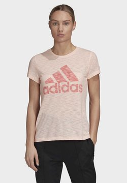 adidas Performance - MUST HAVES WINNERS T-SHIRT - Camiseta estampada - pink