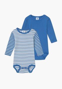 Sanetta - LONGSLEEVE BABY 2 PACK - Body - blue