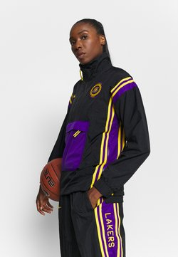 Nike Performance - NBA LA LAKERS WOMEN TRACKSUIT - Trainingspak - black/amarillo/field purple