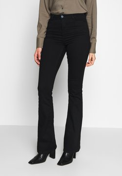 Missguided Tall - LAWLESS FLARE - Jeans Skinny - black