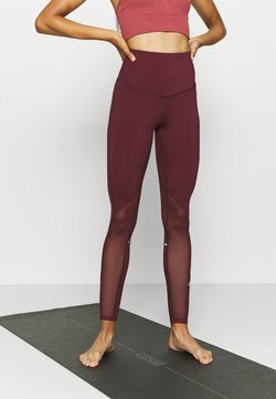 South Beach - INSERT HIGHWAIST LEGGING - Tights - burgundy