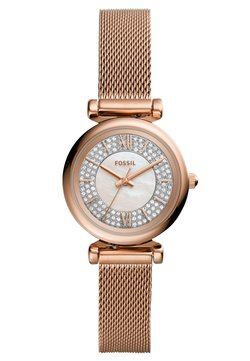 Fossil - CARLIE MINI - Montre - rose gold-coloured