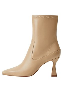 Mango - AIRE - High heeled ankle boots - beige