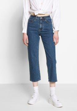 Object - OBJVINNIE LOOSE  - Slim fit jeans - dark blue denim